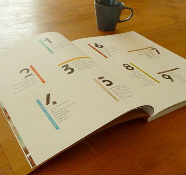 Création catalogue architecte