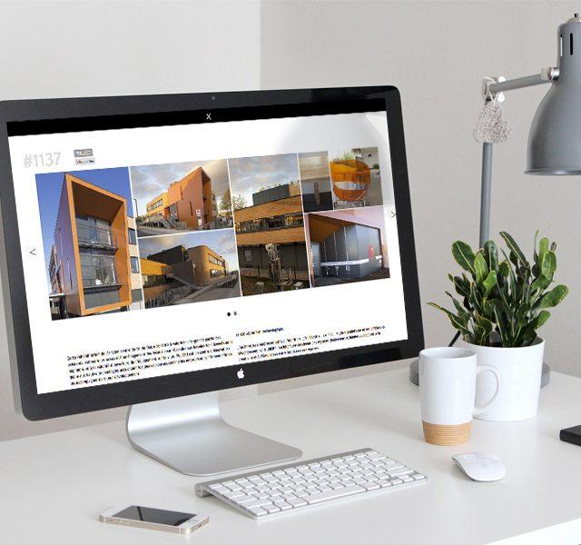Création site web architecture