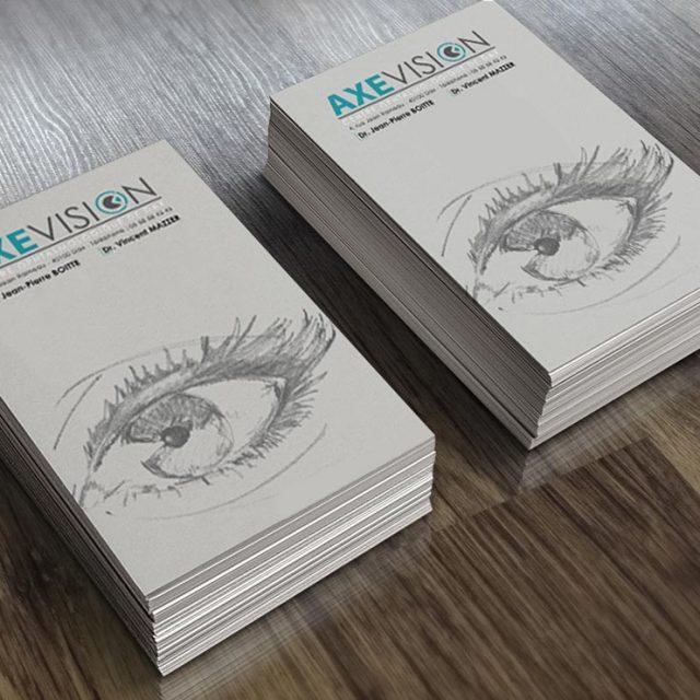 Création carte de viste médicale Dax