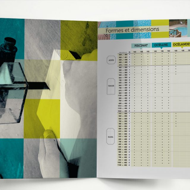 Création d'un catalogue commercial Landes