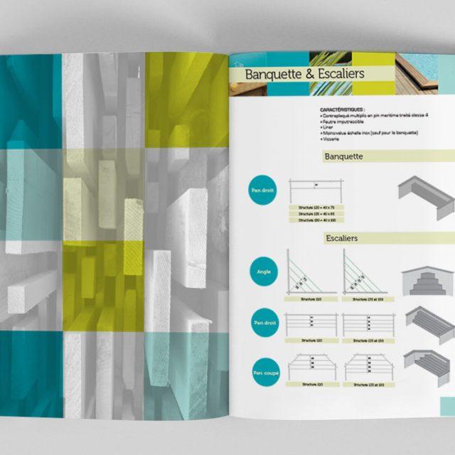 Création d'un catalogue commercial