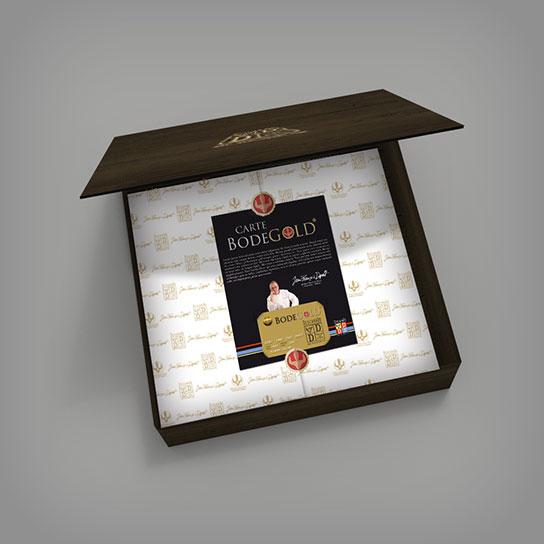 Création packaging coffret