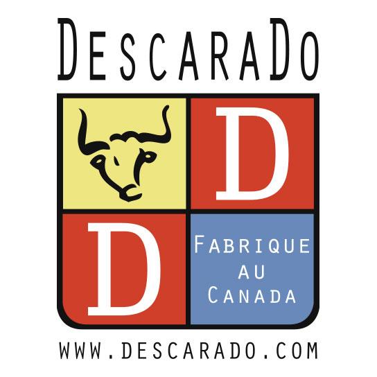 Création logo descarado graphique