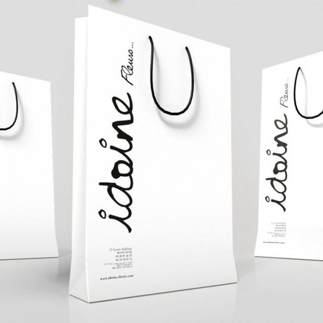 création packaging fleuriste Dax