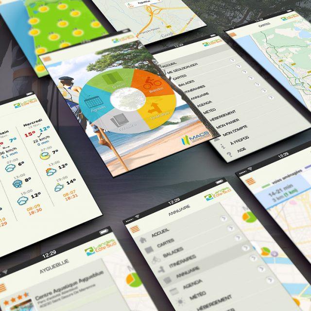 Création application mobile MACS Landes