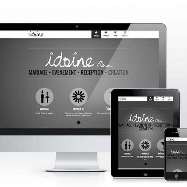création site web fleuriste Dax
