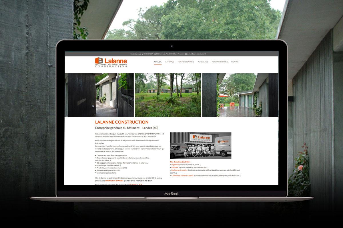lalanne construction agence de communication et cr ation de site internet dax. Black Bedroom Furniture Sets. Home Design Ideas