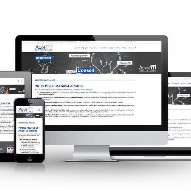 Création site web comptable