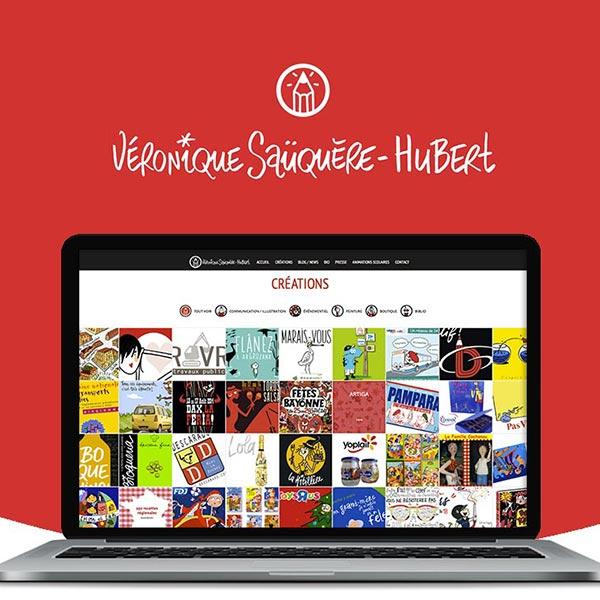 Création site web artiste Dax