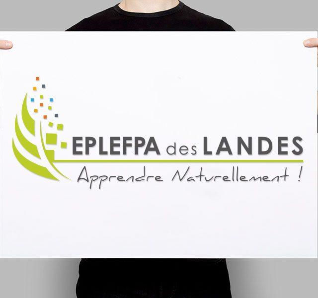 Création de logo Landes