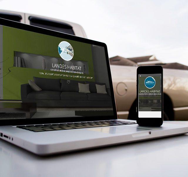 Création de site web à Dax