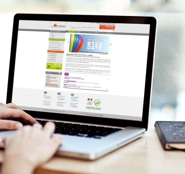 Création de site internet Landes
